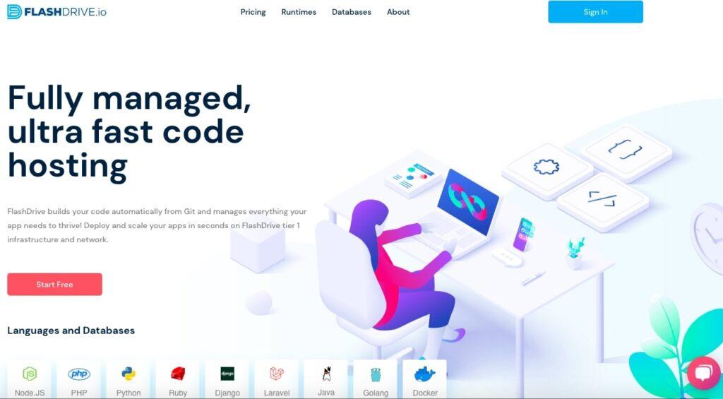 Flashdrive.io-Cloud-hosting-App-Platform