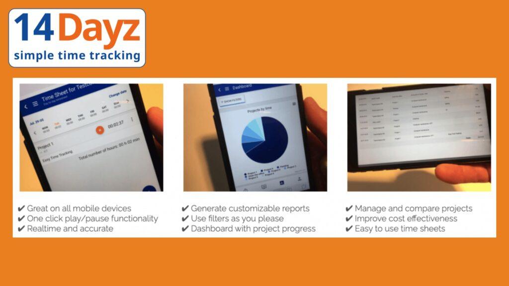 14Dayz - Time Tracking App