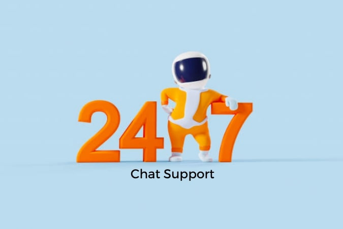 24/7 Chat Support