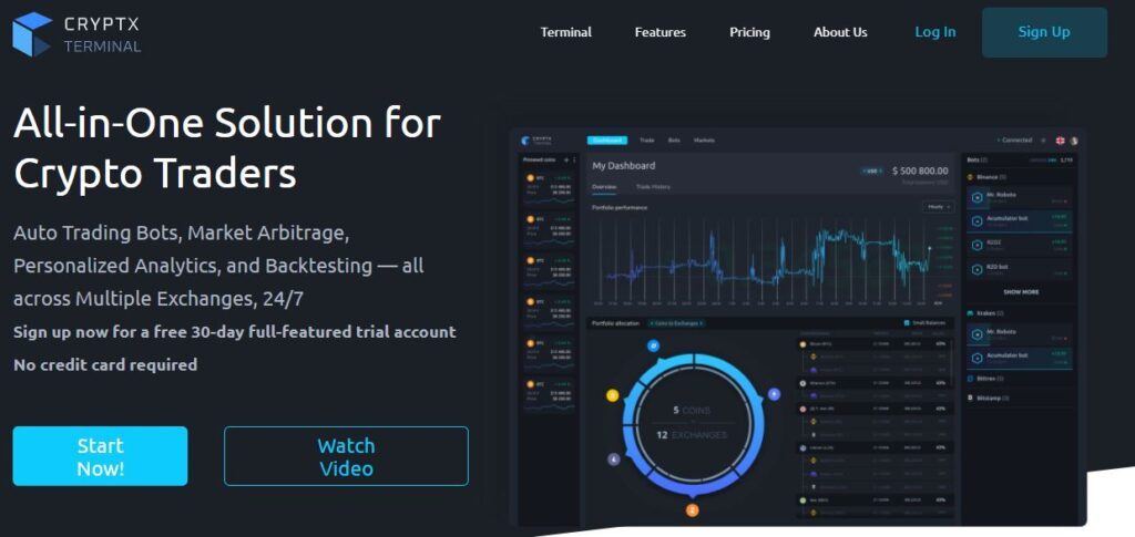 Cryptx-All-in-one-solution-for-crypto-traders
