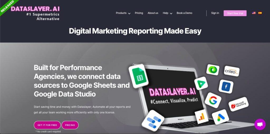 Dataslayer - An alternative to Supermetrics