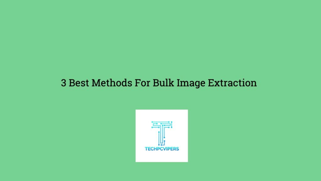 Extract All Images From A Webpage