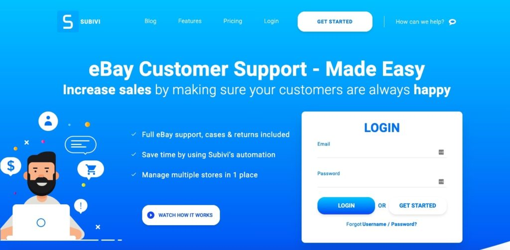 Customer Support Solution for eBay Sellers