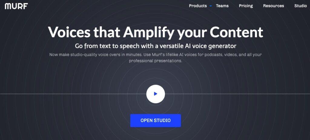 Murf-AI-Voice-Generator