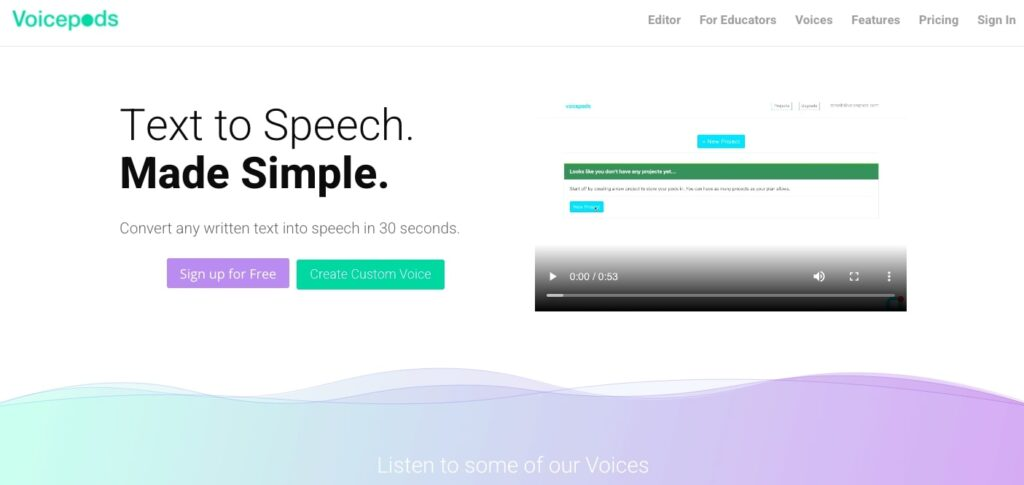 Voicepods